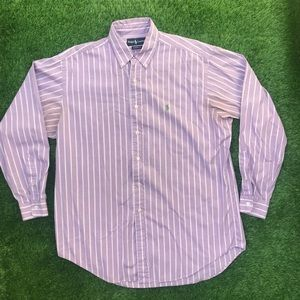 Polo Ralph Lauren Full Button Front Striped Shirt